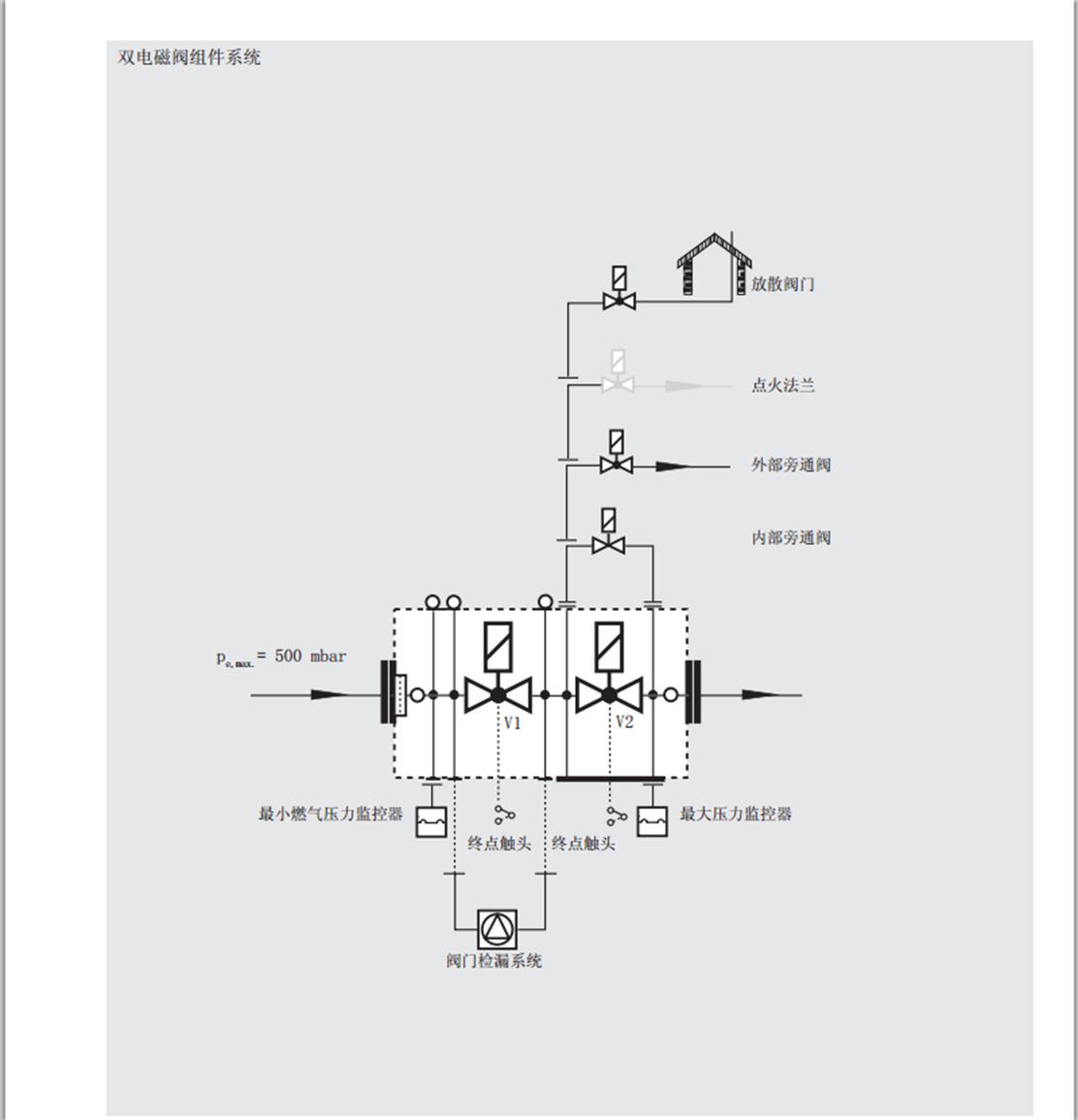 德国--冬斯(dungs)燃气电磁阀dmv5065--5080--5100/11